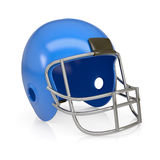 American football helmet. Isolated render on a white background Stock Images