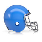 American football helmet. Isolated render on a white background Royalty Free Stock Photography