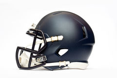 American football helmet. Isolated on white background Royalty Free Stock Photo