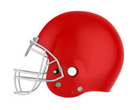 American Football Helmet Isolated. On white background. 3D render Stock Images