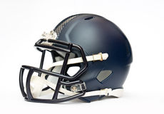 American football helmet. Isolated on white backgrounda Stock Images