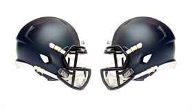 American football helmets Stock Image