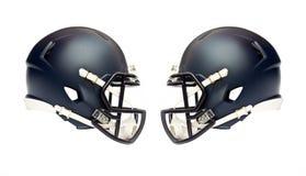 American football helmets Stock Image