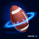 American football high voltage Stock Photos