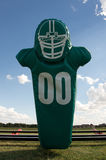 American Football Hit Pad. With sky beyond Stock Photo