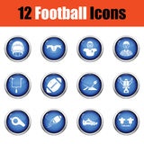American football icon. Royalty Free Stock Photos