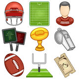 American Football icon - Sport Royalty Free Stock Images