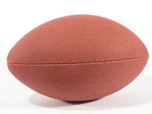 American Football III. Side view of an American football on white background Stock Photo