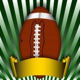 American football illustration Royalty Free Stock Photography