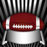 American football illustration Stock Photography
