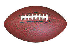 American football isolated clipping path Stock Photos