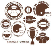 American Football Royalty Free Stock Photography