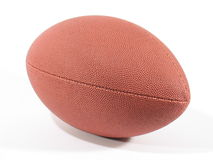 American Football IV. Front view of an American football on white background Stock Image