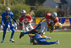 American Football JV royalty free stock image