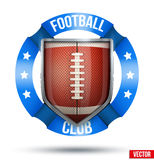 American Football Label Stock Photography