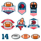 American football league Royalty Free Stock Images