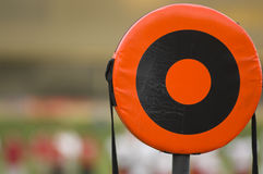 American Football Line Marker Royalty Free Stock Photography
