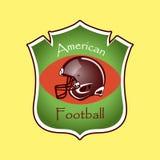 American Football logo and emblem Stock Photos