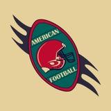 American Football logo and emblem Stock Photography