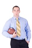 American football manager Stock Image