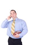 American football manager Stock Photo