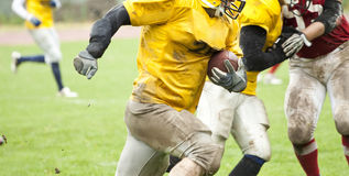 American football match Stock Images