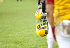 American football match Stock Photography