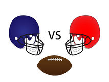 American Football Match Stock Image