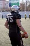 American football match in Spain Royalty Free Stock Photos