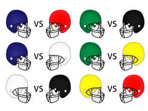 American Football Matches Royalty Free Stock Image