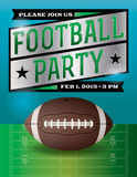 American Football Party Illustration Stock Image