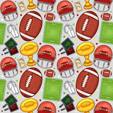 American Football pattern - Sport - #1 Stock Images