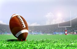 American football penalty kick Royalty Free Stock Photography