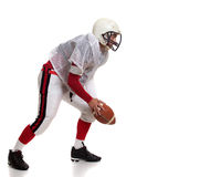 American football player. Royalty Free Stock Photography