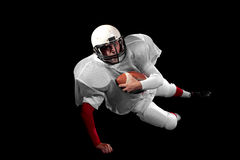 American football player. Stock Photo