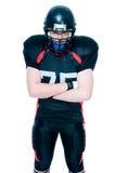 american football player στοκ φωτογραφία