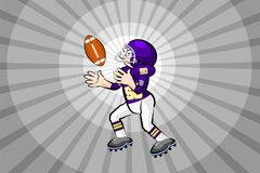 American Football Player Royalty Free Stock Photo