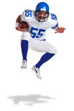 American football player cut out Royalty Free Stock Image