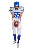 American football player cut out Stock Image