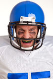American football player cut out Stock Photos