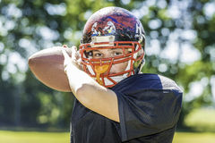 American Football Player Stock Images