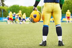 American football player Royalty Free Stock Photos