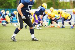 American football player Royalty Free Stock Photography