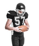 American football player. Stock Images