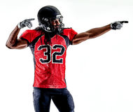 American football player man isolated stock photography