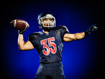 American football player man  Royalty Free Stock Photography