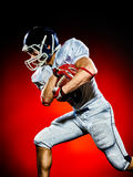American football player man  Royalty Free Stock Image