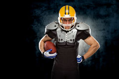 American football player Royalty Free Stock Images
