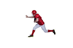 American football player running with the ball Royalty Free Stock Photo