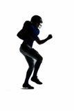 American football player running Royalty Free Stock Photos